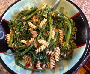 Rotini with Broccolini