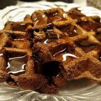 Chocolate Brownie Waffle