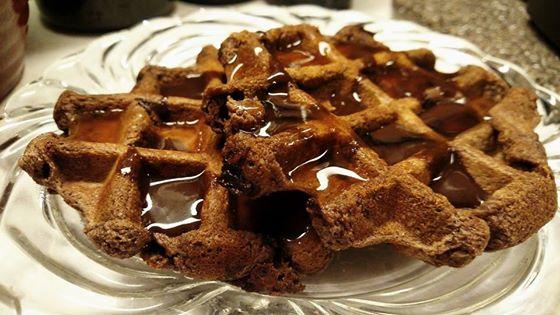 brownie-waffle