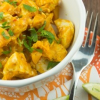 Crockpot Curried Chicken