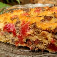Mac & Cheeseburger Pie